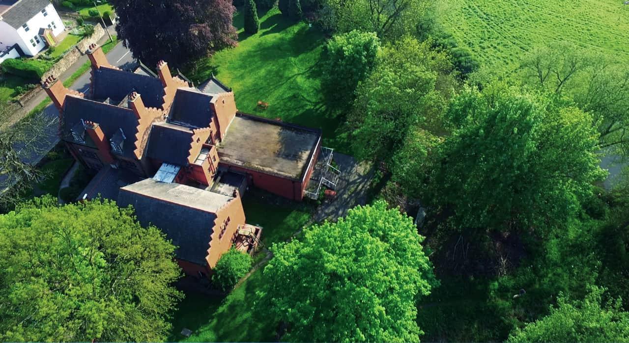 Bolehall Manor Club Air View