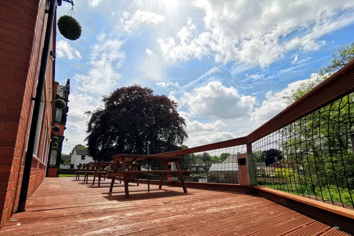 Bolehall Manor Club Beer Garden