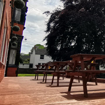Bolehall Manor Club Beer Garden