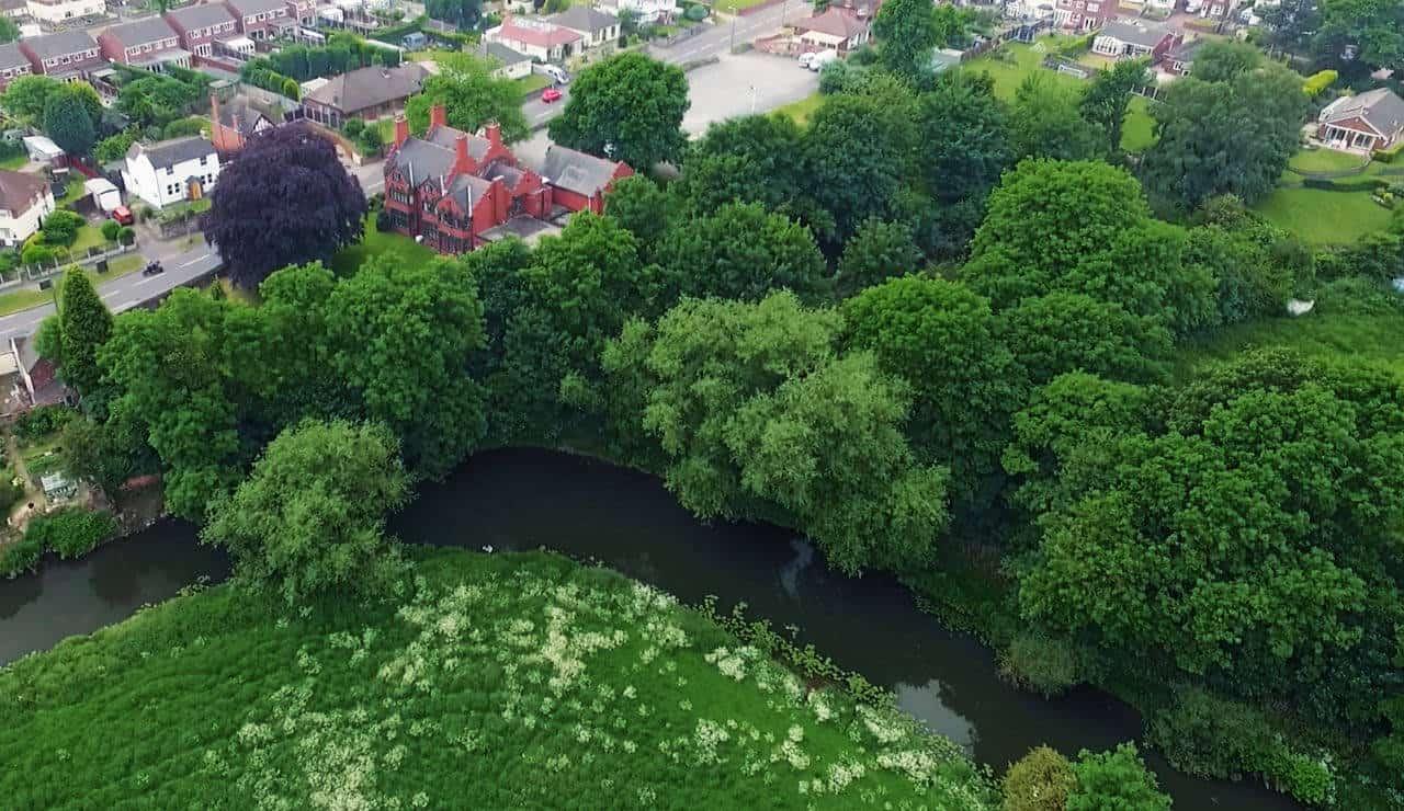 Bolehall Manor Club - River view