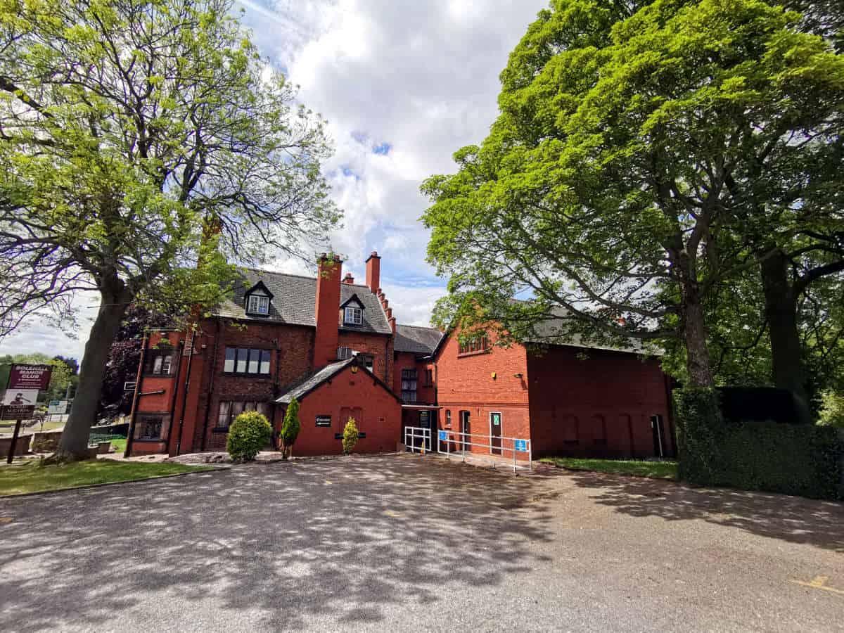 Bolehall Manor Club - Venue Back