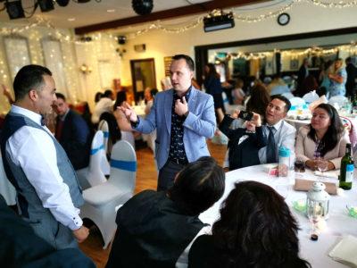Bolehall Manor Club Wedding Reception