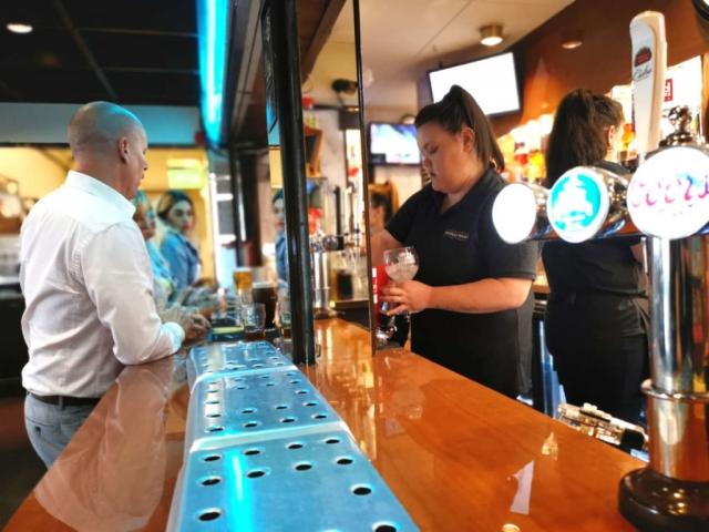 Bolehall Manor Club Bar Staff