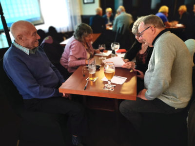 Quiz Night - team work at Bolehall Manor